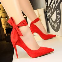 High quality 2018 ultra high heels suede elegant ankle strap...