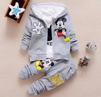 Children Girls Boys Fashion Clothing Sets Autumn Winter 3 Pi...