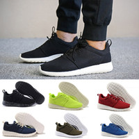 nike roshe run one 2018 New London Classical Running Shoes hombres negro botas bajas Ligero Transpirable London Olympic Sports Sneakers Entrenadores tamaño 36-45