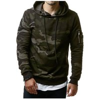 Size M-3XL Men's Clothing 2018 New Autumn Winter Classic Camouflage Casual Men's Hooded Sweater Pullover Hoodies Jacket Coat