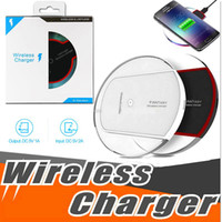Qi Wireless Charger Pad Fast Charger for iPhone X 8 Plus Sam...
