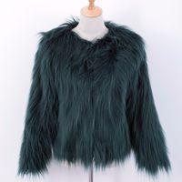 cappotto da donna in pelliccia ecologica donna cappotto europeo e americano di fascia alta moda donna Haining mantenere caldo