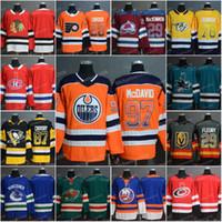 Männer 2019 Neue Zuhause Mode-Druck allmähliche Änderung Jersey 97 connormcdavid 87 Sidney Crosby 28 GIRAUX 29 Marc-Andre Fleury Hockey Trikots