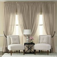Solid Cortina Noble Floral Window Tulle Curtains Voile Sheer...