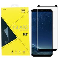 Case Friendly Full Cover Coverage 3D Curved Tempered Glass F...