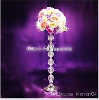 Gros pas cher fleur de mariage décoration élégante 60 cm grand fleur stand artificiel arrangement de fleurs table de mariage centres de table événement deco