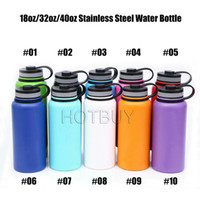 18oz 32oz 40oz Double Walled Vacuum Water Bottle Insulated 3...