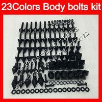 Kit de tornillos completos de tornillos de carenado Para HONDA VFR800 02 03 04 05 06 VFR 800 VFR800RR 2002 2003 2004 05 2006 Tuercas de cuerpo tornillos kit de tornillos de tuerca 25 colores