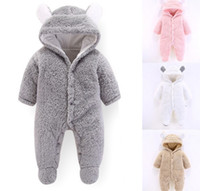 New Autumn Winter Baby Romper 1 to 12M Kids Newborn Footies ...