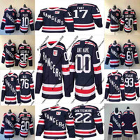 Youth Kids 2018 Winter Classic Jersey 93 Mika Zibanejad 89 P...