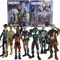 3. 5 Inch 4pcs set Fortnite Series Dolls Hand- made Fortress N...