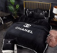 Luxury Design Embroidery Black Bedding Bag Suit Nordic Bouti...