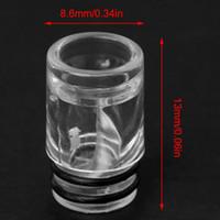5Pcs / Lot Inner Spiral Design 510 Drip Tip Boccaglio in plastica per atomizzatore E-Cig