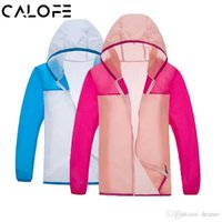 New Arrival. CALOFE Windproof Men Women Cycling Jackets With Storage Pouch  Long Sleeve Bicycle Jacket Hooded Coat Export Sports Clothing 5a0e905b6