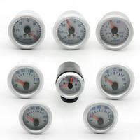 DRAGON GAUGE 2 pollici 52mm LED Car Boost / Temp. Acqua / Temp. Olio / Pressione olio / Contagiri / Volt / Misuratore sottovuoto + Manometri