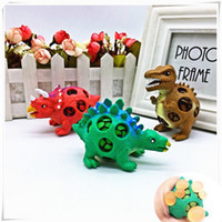 Cute Anti Stress Face Reliever Dinosaur Grape Ball Autism Mo...