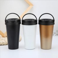 4 Colors New products Vacuum Cup 500ml Leakproof double wall...