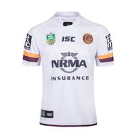 Newest Brisbane Broncos 2018 2019 home away rugby Jerseys NR...