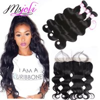 Mongolian virgin hair bundles lace frontal ear to ear 13x4 l...
