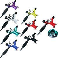 Dragonfly Rotary Tattoo Machine Shader Liner Surtido Tatoo Motor Kits Suministro 7 colores Tattoo Guns Envío de DHL