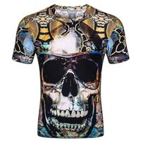 2018 Europe and the United States spring summer python skull...