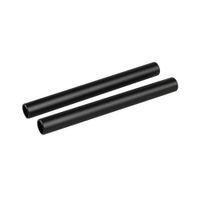 CAMVATE 15mm Çubuk Alüminyum Eloksal M12 Boru 150mm Uzun (2 Tüp)