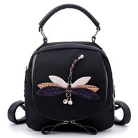 New style Oxford double shoulder bag dragonfly bird water dr...