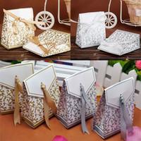Confezione regalo bomboniera bomboniera regalo dolce torta involtini caramelle scatole di carta borse anniversario compleanno festa baby shower regali scatola wx9-1045