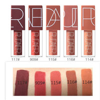 Pudaier Brand Makeup Waterproof Long lasting Colors Lip Glos...