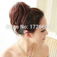 Large Synthetic Hair Chignon for Beauty Women New Natural Lo...