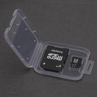 Speicherkarten-Kasten-Halter-Kasten-Speicher Tragen Sie Aufbewahrungsbehälter für SD TF-Karten-Plastikstandard SD SDHC Kasten-Kasten
