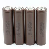 Comercio al por mayor CALIENTE 18650 HG2 3000 mAh Capacidad Max 20A Baterías de Drenaje Alto Recargable Batería de Litio HG2 Para Cigarrillo Electónico 100 W