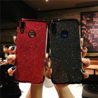Glitter Bling 3 in 1 Soft TPU Plating Case voor Huawei P8 P20 Nova 3 3I Mate 10 20 pro Lite Y5 Y6 Y7 Prime Y9 2018 Honor 8x MAX P Smart