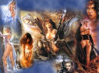 Luis Royo Fantasy Art Subversive Beauty , Oil Painting Reprod...