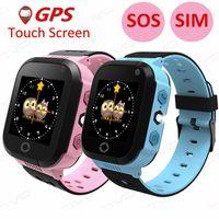 SOVO Q528 Y21 Touchscreen GPS Kind Intelligente Uhr Mit Kamera Beleuchtung Telefonstandort SOS Anruf Fernmonitor PK Q50 Q90 Q100
