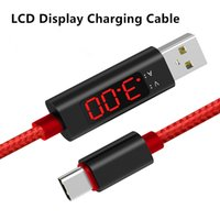 Intelligent Digital LCD Display Charging Voltage Current Dat...
