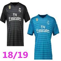 18 19 real madrid Goalkeeper soccer jerseys home away 2018 2019 real madrid  navas K.CASILLA luca Goalkeeper football shirts customize d411fa565