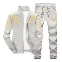 Giacca con cerniera casual Bumpybeast + Pant Set da uomo Casual Tuta sportiva Felpa con cappuccio Tuta da uomo Felpa da uomo Set due pezzi