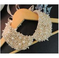 NOUVEAU Vintage Vintage Pearl Faux Collier Collier Collier Collier Elegant Fashion Pearl De faux collier Collier Collier Bijoux