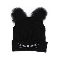 Warm Winter Hat Fashion Lovely Cat Ear Hat For Women Ins Hot...