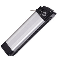 Бесплатный AU ЕС США ebike seat tube 36 V silver fish battery 36v 12ah батареи для 350W до 500W мотор + 2a зарядное устройство