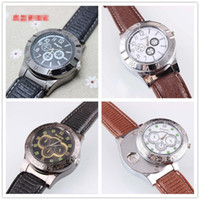 Cigar USB Lighter Charging sports casual quartz Watches wris...