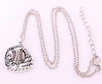 Кристалл бейсбол или софтбол мяч и перчатки кулон с цепочкой связи пшеницы спортивный стиль очарование ожерелье