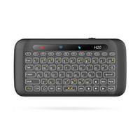 Mini tastiera a sfioramento wireless Touch H20 Full Screen Touchpad Mini tastiera wireless da 2,4 Ghz per tablet desktop portatile