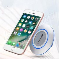 Ultrathin Metal Qi Wireless Charger For iPhone X 8 Plus Sams...