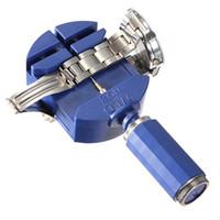 Nuevo Arrvial !!! Enlace de reloj Para Banda Correa Correa Pulsera Cadena Pin Remover Ajustador Kit de herramientas de reparación 28 mm para hombres / mujeres reloj