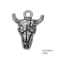 Vache Skull Animal Design spécial Charms Autres bijoux personnalisés