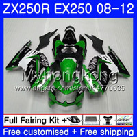 Body For KAWASAKI NINJA ZX- 250R ZX250 R ZX 250R 08 09 10 11 ...