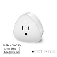 Smart Plug Mini Wifi Outlet Compatible With Alexa Echo Googl...