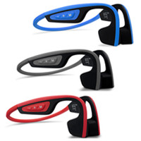 2018 S.Wear Bone Conduction LF-19 Cuffia senza fili Marca Cuffia stereo BT 4.1 Impermeabile Bluetooth Neck-strap Cuffia con scatola
